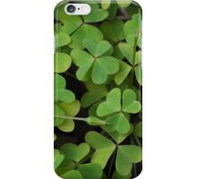 Can you find the 4 leaf? iPhone Case/Skin