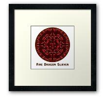 Fairy Tail - Fire Dragon Slayer Framed Print