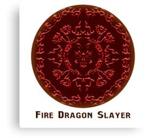 Fairy Tail - Fire Dragon Slayer Canvas Print
