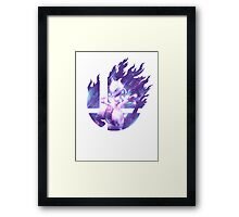 Smash Mewtwo Framed Print