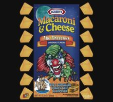 Evil Clown T Shirt Macaroni & Cheese by bear77