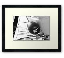 sail boat Framed Print