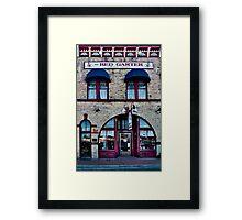 The Red Garter Framed Print