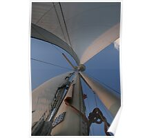 sails and blue skies Poster