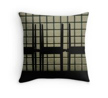 Stacked tables Throw Pillow