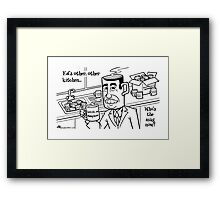Ed's Other, Other Kitchen Framed Print