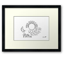 The Good Life? Framed Print