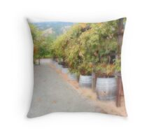Vineyard  Throw Pillow