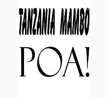 Tanzania poa Mens V-Neck T-Shirt