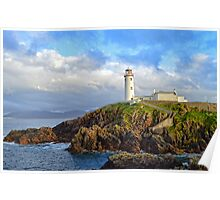 Fanad Head Lighthouse, Co. Donegal Poster