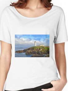 Fanad Head Lighthouse, Co. Donegal Women's Relaxed Fit T-Shirt