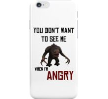 Angry Rancor - StarWars iPhone Case/Skin