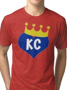 Heart KC - City of Royalty Tri-blend T-Shirt