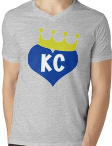 Heart KC - City of Royalty Mens V-Neck T-Shirt
