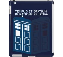 LATIN TARDIS iPad Case/Skin