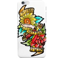 Twin Sized Mattress - The Front Bottoms  iPhone Case/Skin
