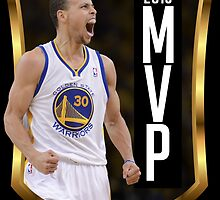 Stephen Curry - 2015 MVP by reypuzon