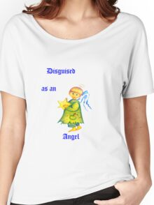 Disguised As An Angel Women's Relaxed Fit T-Shirt