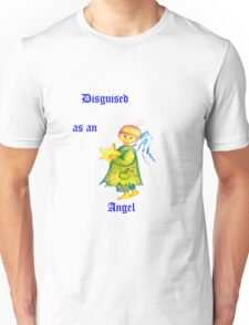 Disguised As An Angel Unisex T-Shirt