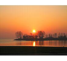 Sunrise XI (Lakeshore) Photographic Print