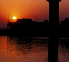 Sunset at Harbortown by Jim Haley