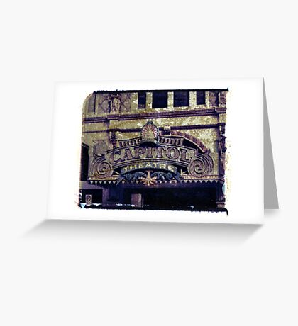 Capital Theatre Greeting Card