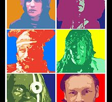 Mighty Boosh Characters by InCodeDesign