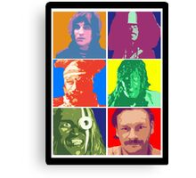 Mighty Boosh Characters Canvas Print