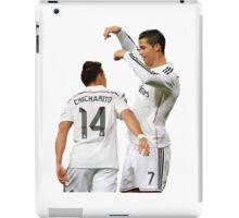 Cristiano and Chicharito  iPad Case/Skin