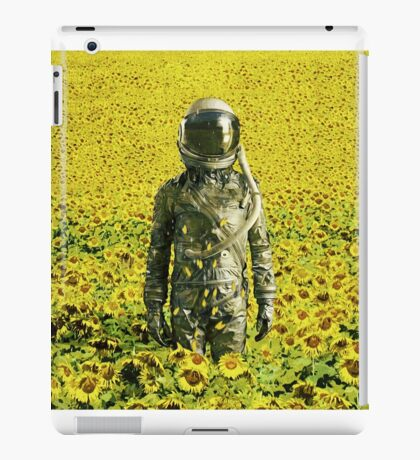 Stranded in the sunflower field iPad Case/Skin