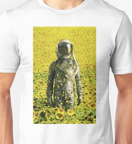 Stranded in the sunflower field Unisex T-Shirt