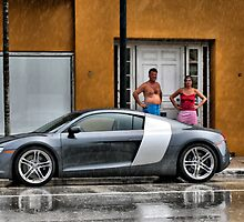 Audi R8  by Andreas Mueller