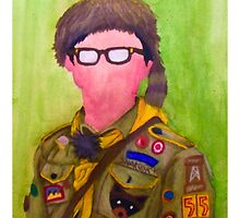 Sam Shakusky - Moonrise Kingdom  by suburbanavenger