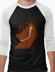 Rex Vector Men's Baseball ¾ T-Shirt