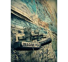 Imagine Peace Photographic Print