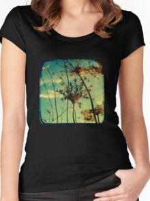 Head in the Clouds - TTV Women's Fitted Scoop T-Shirt