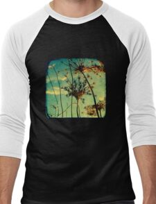 Head in the Clouds - TTV Men's Baseball ¾ T-Shirt