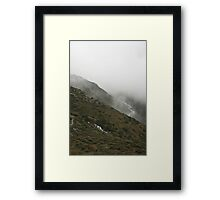 Water Above and Below Framed Print