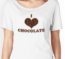 I Love Chocolate Women's Relaxed Fit T-Shirt