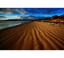 Tide Lines in the Sand Photographic Print