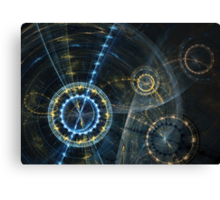 Clockwork movement Canvas Print