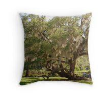 Walking Oak Tree Throw Pillow