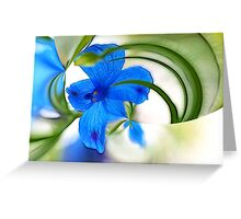 Reaching for Beauty Greeting Card