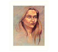 Portrait of Susie Art Print