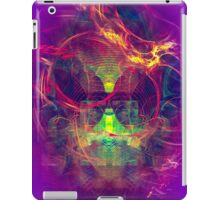 Confused Monkey - digital abstract art iPad Case/Skin