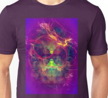 Confused Monkey - digital abstract art Unisex T-Shirt