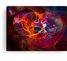 Consent  - digital abstract art Canvas Print