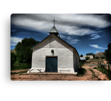 Penitente Church Canvas Print