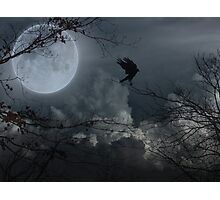 Moon Out Tonight Photographic Print