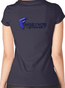 Andrews logo  Women's Fitted Scoop T-Shirt
